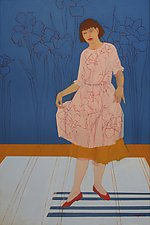 The Curtsy by Mary Hatch (Oil Painting)