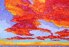 Symphony in the Sky by Jeff  Ferst (Oil Painting)