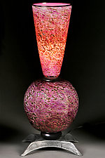 Purple Passion by Eric Bladholm (Art Glass Table Lamp)