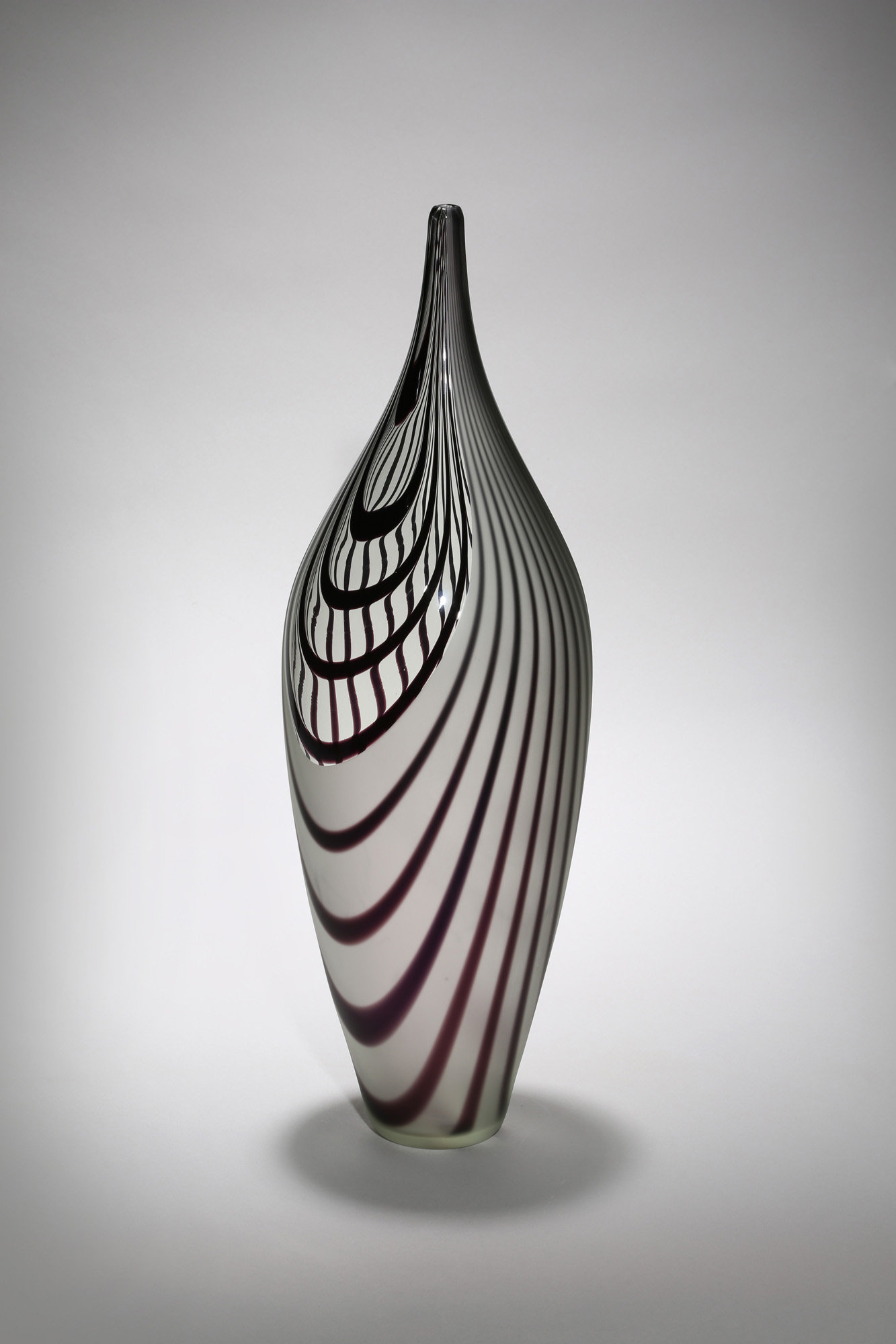 Large Glass Vessel : ... by Michael Hermann and Gina Lunn (Art Glass Vessel) Artful Home