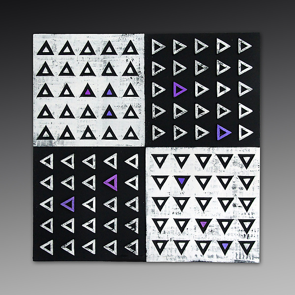XOYO Triangles Tile