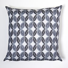Blue Leaf by Ealish  Wilson (Cotton & Linen Pillow)
