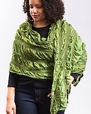 Priya Wrap by Janice Kissinger  (Silk & Wool Scarf)