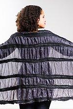 Priya Wrap in Kali by Janice Kissinger  (Silk & Wool Wrap)