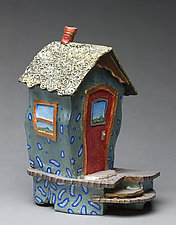Our House by Byron Williamson (Ceramic Sculpture)