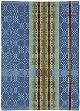 Oleana Blue Rug by Kelly Marshall (Cotton & Linen Rug)
