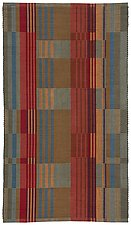 Conservatory in Terracotta by Kelly Marshall (Cotton & Linen Rug)