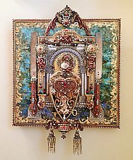 Making Peace by Heather Campbell (Mixed-Media Wall Sculpture)