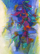 Foxglove by Debora  Stewart (Pastel Painting)