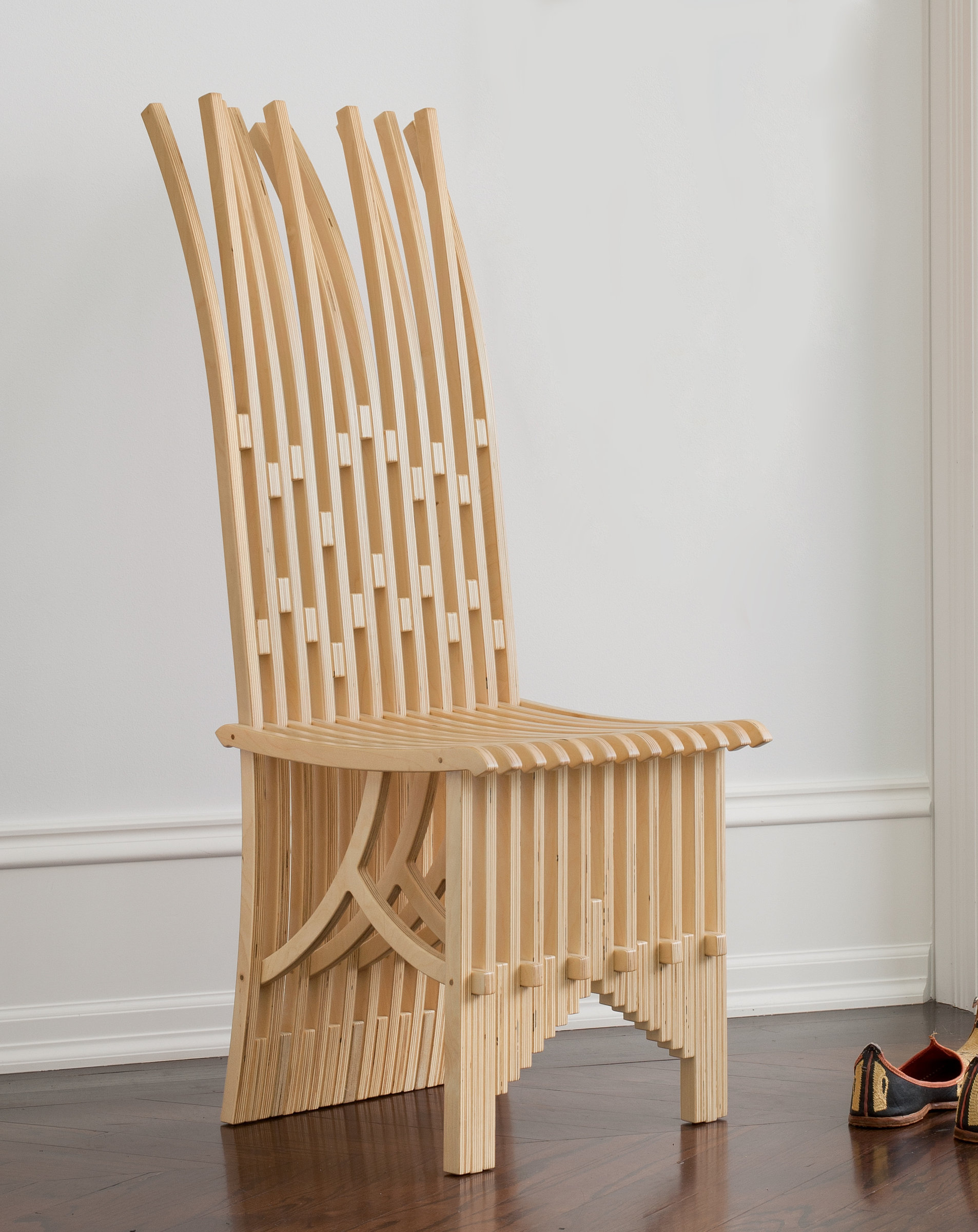 Mini frond chair by alan kaniarz wood artful home