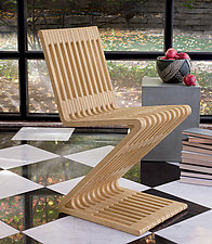 ZagZig Chair by Alan Kaniarz (Wood Chair)