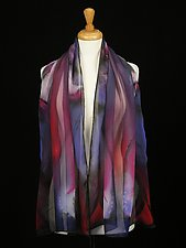 Electric Jazz by Tracey Dobbins  (Silk Scarf)