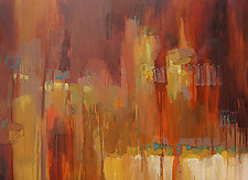 Texture 5 by Cathy Locke (Oil Painting)