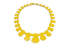 10-Piece Silhouette Necklace by Ashley Buchanan (Brass Necklace)