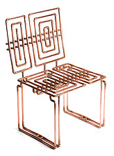 10:01 Chair by TJ Volonis (Metal Chair)