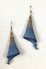 Mesh Lily Dangle Earring by Sarah Cavender (Metal Earrings)