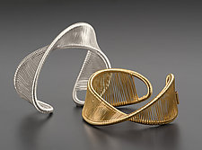 Mobius Cuff by Tana Acton (Gold & Silver Cuff)