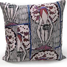 Curtsy #2 in Blush by Laura Goldstein (Silk Pillow)