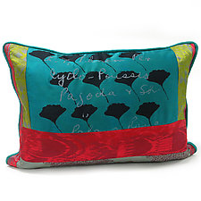 Ginkgo by Laura Goldstein (Silk Pillow)
