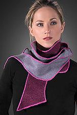 Zag Scarf by Kristin Gereau  (Silk & Wool Scarf)