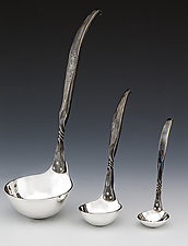 Twist Ladle by Nicole and Harry Hansen (Metal Ladle)