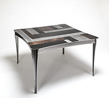 Venetian Coffee Table by Ken Girardini and Julie Girardini (Metal Coffee Table)