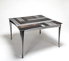 Venetian Coffee Table by Ken Girardini and Julie Girardini (Metal Coffee Table)