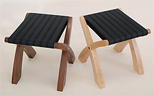 Low Stool by Todd  Bradlee (Wood Stool)