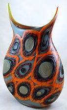 Cerchio Series Due by Marlo Cronquist (Art Glass Vessel)