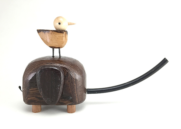 Wenge & Oak Elephant