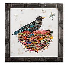 Crow Moon by Dolan Geiman (Mixed-Media Wall Art)