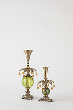Delighter Candlesticks by Mollie Woods (Mixed-Media Candlestick)