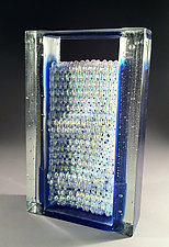 Aquatic by William Zweifel (Art Glass Sculpture)