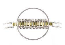 Circlet Bracelet by Mackenzie Law (Gold & Silver Bracelet)