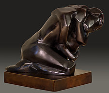 Hug by Dina Angel-Wing (Bronze Sculpture)