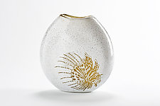 Lionfish Vase by Jennifer Caldwell (Art Glass Vase)
