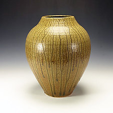 Ash Glazed Vessel #2 by Lance Timco (Ceramic Vessel)