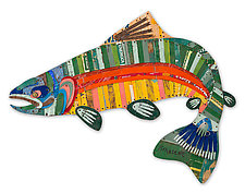 Trophy Fish Collection: Trout by Dolan Geiman (Metal Wall Sculpture)