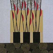 Paper Mosaic 02 by John Nalevanko (Paper Wall Art)
