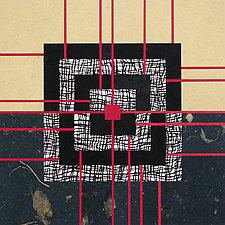 Paper Mosaic 28 by John Nalevanko (Paper Wall Art)