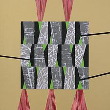 Paper Mosaic 05 by John Nalevanko (Paper Wall Art)