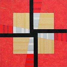 Paper Mosaic 10 by John Nalevanko (Paper Wall Art)