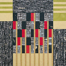 Paper Mosaic 22 by John Nalevanko (Paper Wall Art)