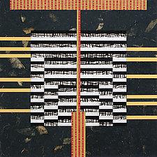Paper Mosaic 25 by John Nalevanko (Paper Wall Art)