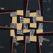 Paper Mosaic 34 by John Nalevanko (Paper Wall Art)