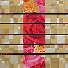 Paper Mosaic 53 by John Nalevanko (Paper Wall Art)