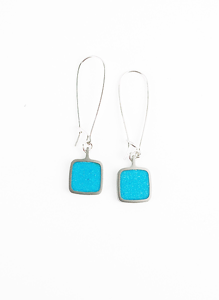 Loop Square Earrings