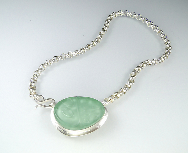 Aya Necklace in Green
