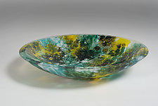 Adriatic Deep Sea by Richard G. Berent (Art Glass Bowl)
