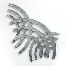 Soundwaves C by Marsh Scott (Metal Wall Sculpture)